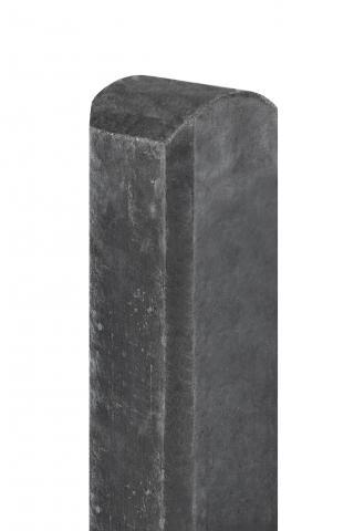 Betonpaal Waal Antraciet ronde kop 10x10x280cm 1.53280R