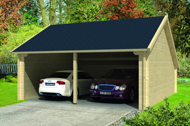 Garage/Kapschuur Nysse Zadeldak/puntdak