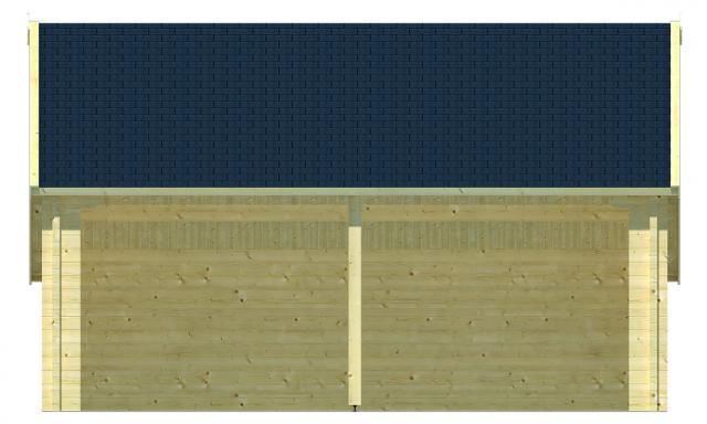 Garage/Kapschuur Nysse puntdak 40.0800