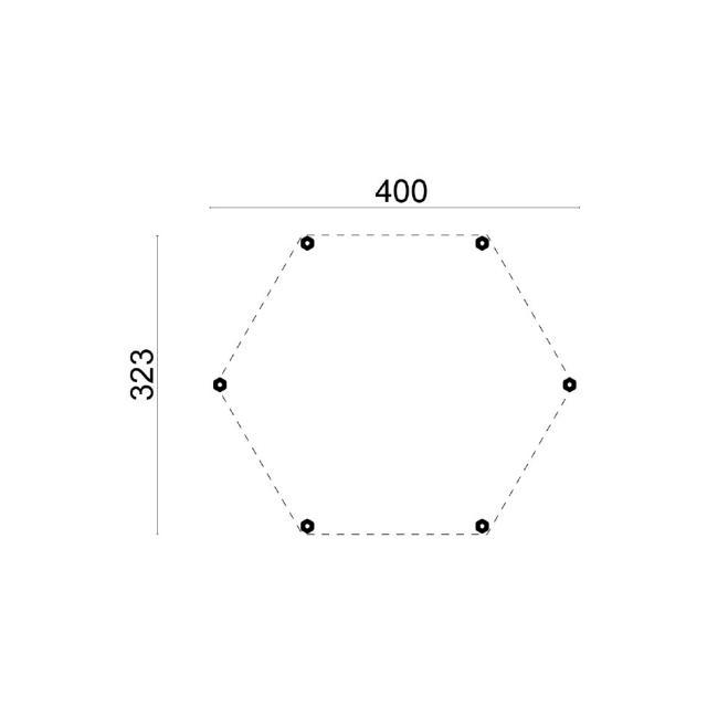 Prieel Groot - Paviljoen dak 42.0180N