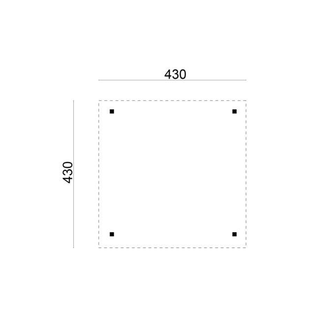Prieel Classico - Piramide dak 42.4343N
