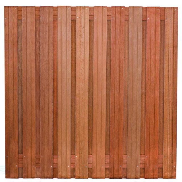 Tuinscherm Dronten Hardhout 4 180x180cm