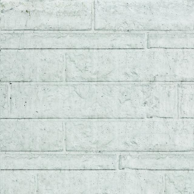 Onderplaat rotsmotief wit/grijs 36x4.8x184