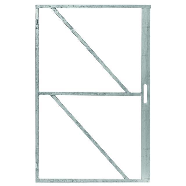 Ijzeren deurframe met slotkast 100x200cm 11.5501