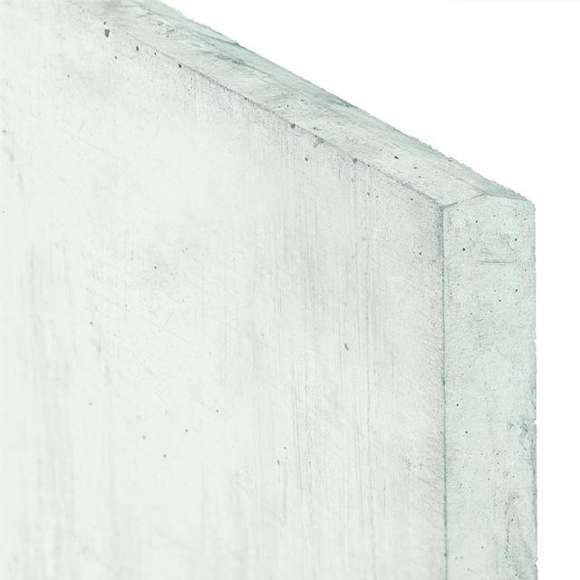 Onderplaat wit/grijs 24x3.5x184 1.55184