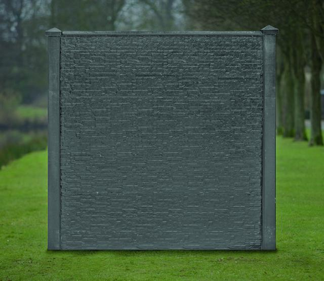 Sleufbetonpaal SPAARNE Antraciet 11,5x11,5x280cm 1.57280