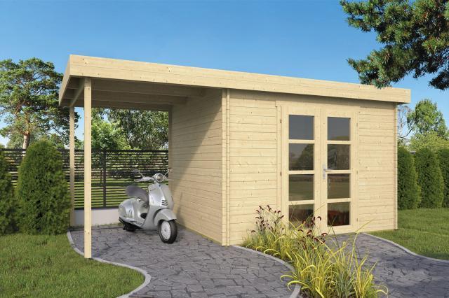 Blokhut Extramodern Plat dak