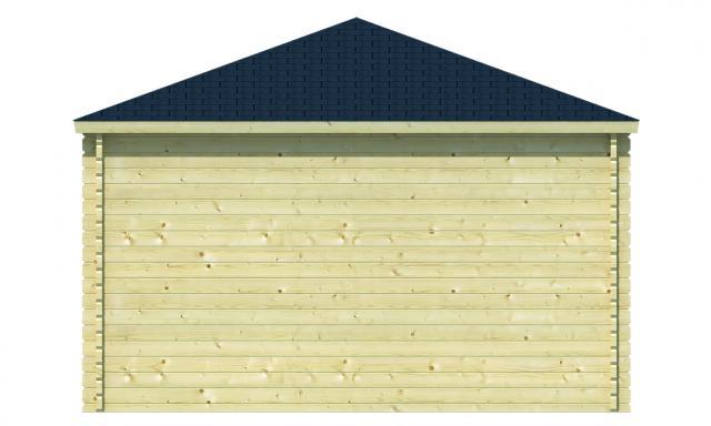 Blokhut Lotte Piramidedak 40.0780