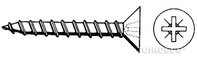 Boorschroeven zelftapper 4,2x32 mm van 100st