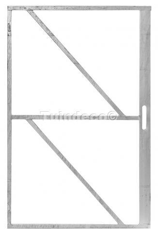 Frame voor poort met slotkast 100x155cm